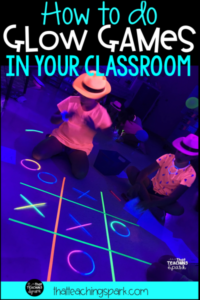 How to do Glow Games in your classroom